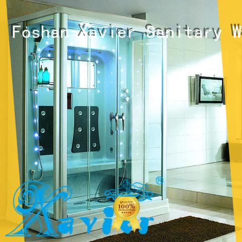 Xavier durable steam shower tub combo online for home