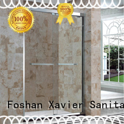 Xavier Brand xb9062 hotel big custom corner shower doors