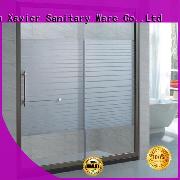 Xavier home glass shower screen design for hotel