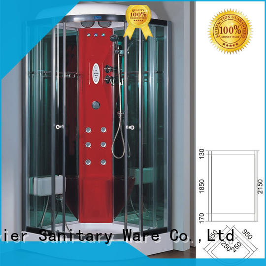 durable steam shower cubicle factory price for apartment