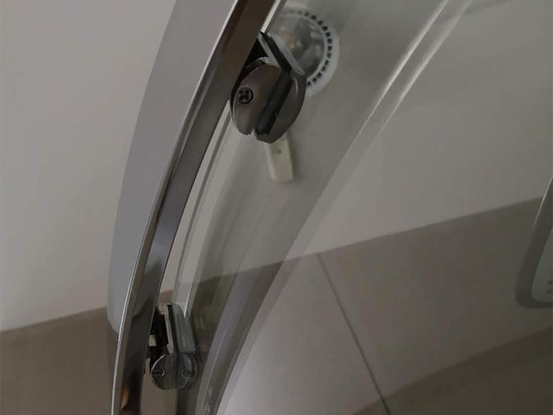 Xavier -Glass Shower Enclosures, Foshan Shower Rooms Durable Simple Hotel Shower-1