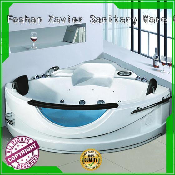 Xavier custom massage bathtub directly price for two people
