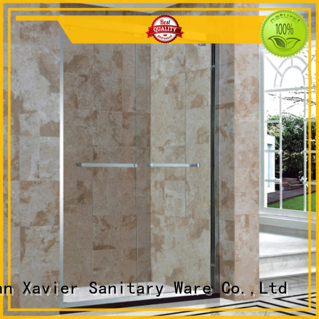 Xavier durable bathroom glass door for sale for hotel