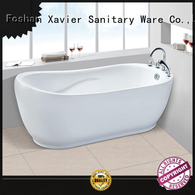 Xavier surface free standing baths promotion for homestay