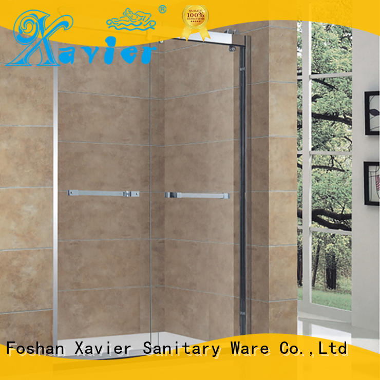 Xavier Brand cabin aluminum bath shower screens sliding factory