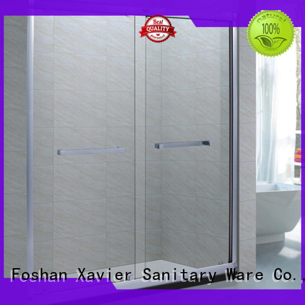 Xavier steel shower stall doors directly price for hotel
