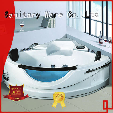 Xavier good quality whirlpool tub with jacuzzi for bathroom