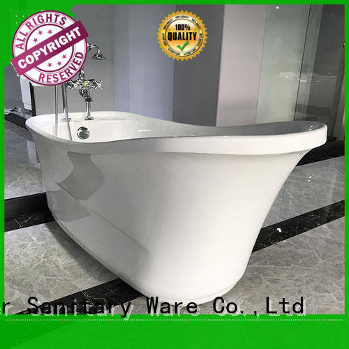 Xavier save space freestanding soaking tub supplier for home