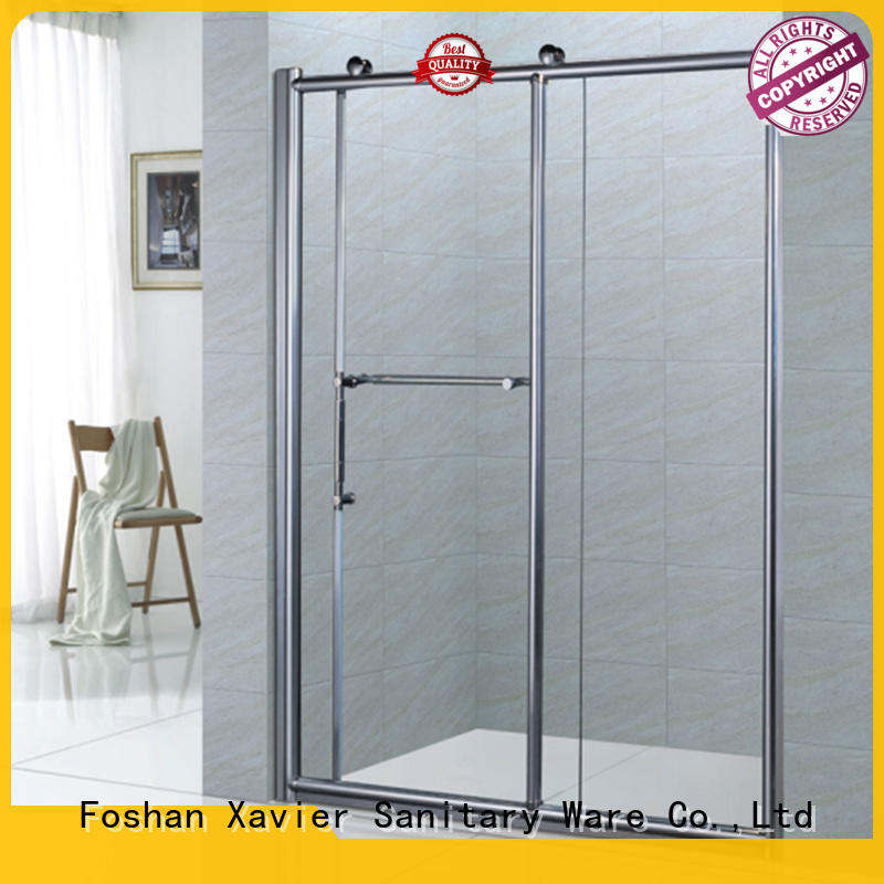 304 bath shower screens panel bypass Xavier company