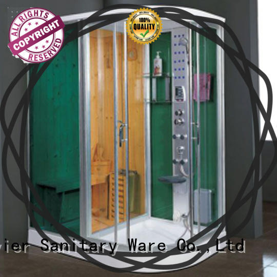 comfortable sauna and steam room factory price for villa