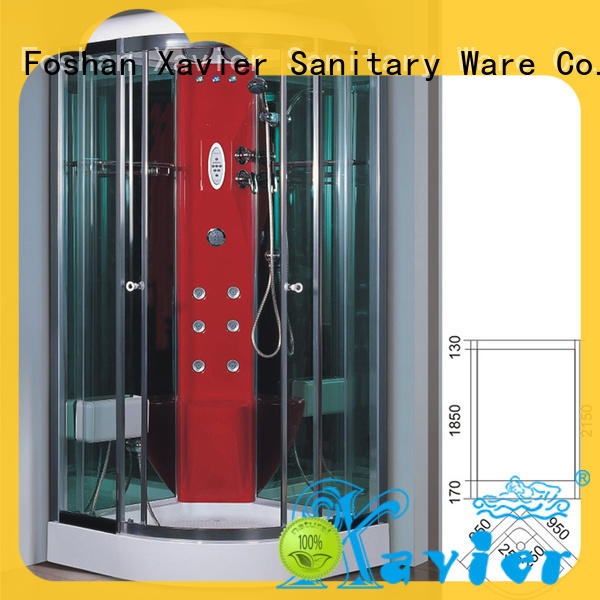 customized steam shower bath glass online for apartment