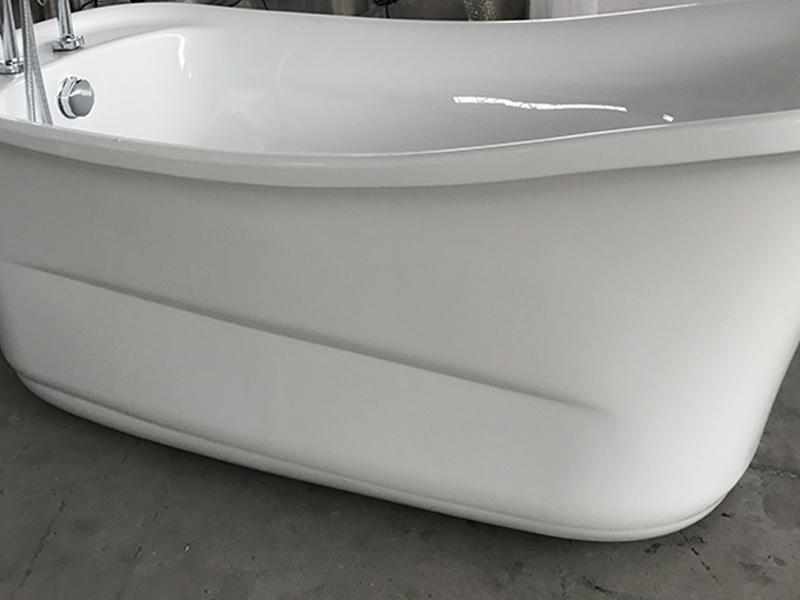 Xavier -Modern Freestanding Tub | Classic Design Acrylic Freestanding Solid Surface-1