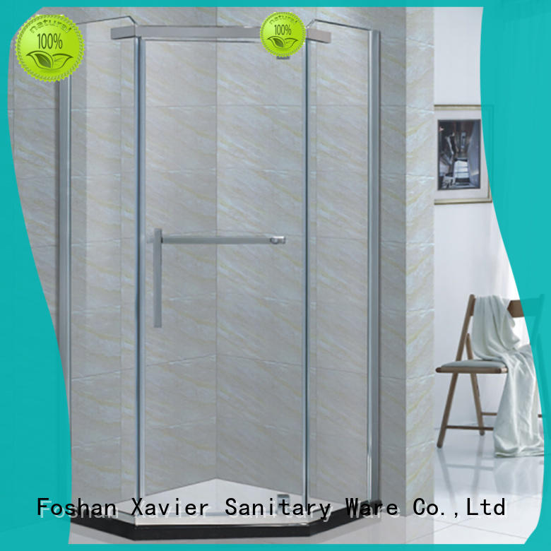 Xavier custom shower cabin wholesale for homestay