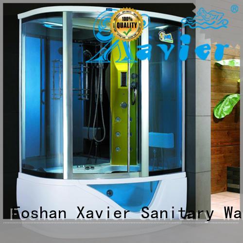 glass steam steam room shower Xavier manufacture