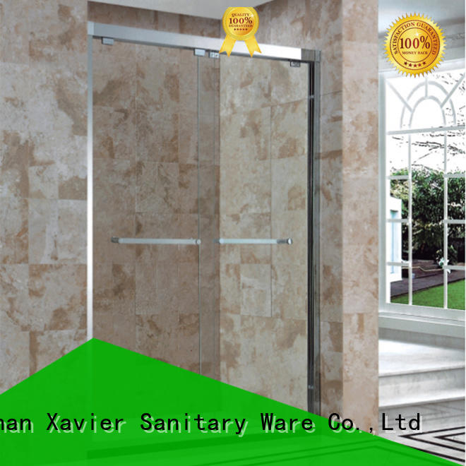 Xavier style sliding shower screen directly price for home