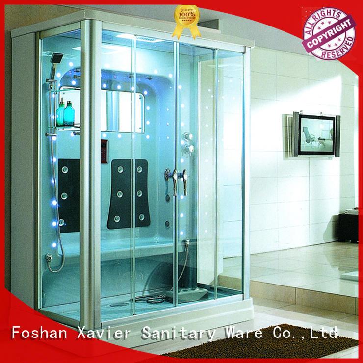 Xavier Brand steam glass steam room shower