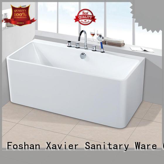 Xavier style modern freestanding tub supplier for homestay