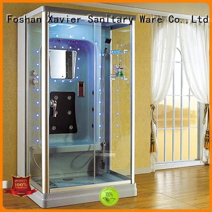 Xavier Brand shower steam steam room shower