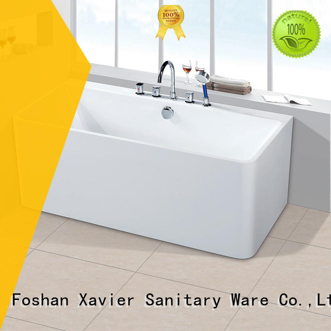 Xavier Brand freestanding bathroom acrylic freestanding bathtub manufacture