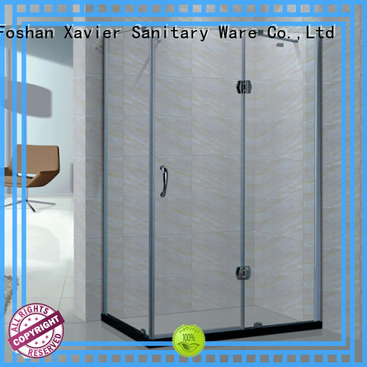 Xavier shower walk in shower enclosures manufacturer for apartment