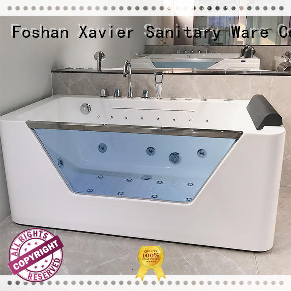 cheap freestanding bath hydromassage for apartment Xavier