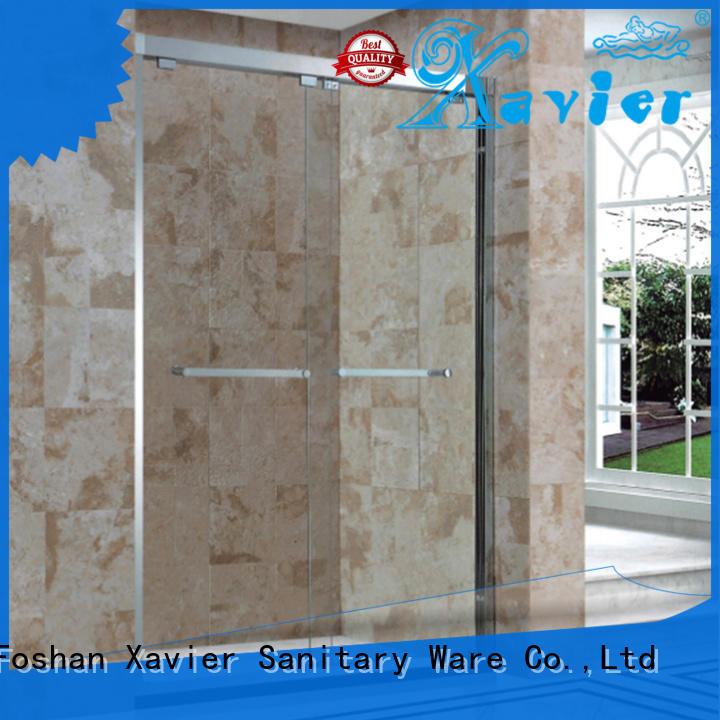 Xavier modern bath screen aluminum for hotel