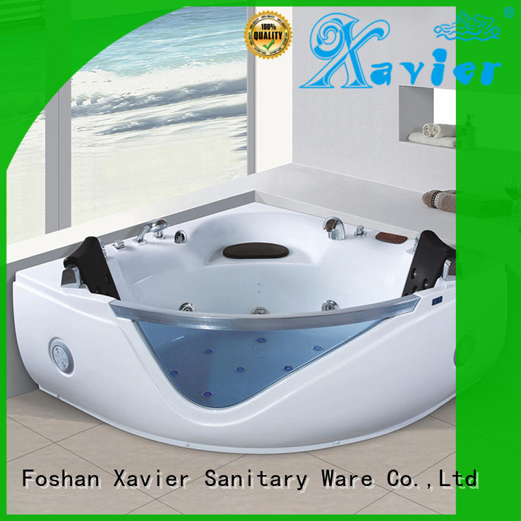 whirlpool indoor Xavier Brand whirlpool tub