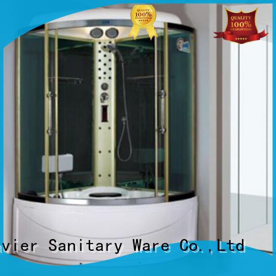 safe steam shower with whirlpool bathtub factory price for villa Xavier