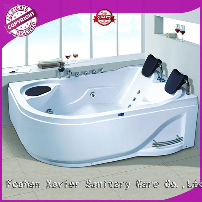 Xavier bathroom massage bathtub from China for resort hotel