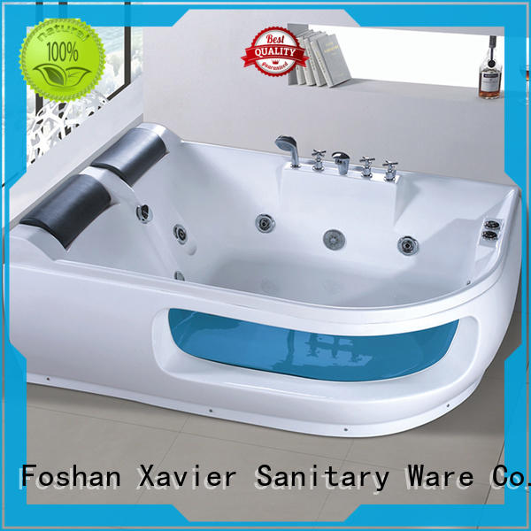 Xavier modren massage bathtub from China for two people