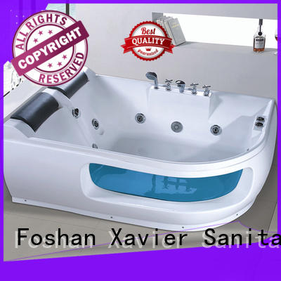 new style acrylic bathtub jetted bathtub Xavier manufacture