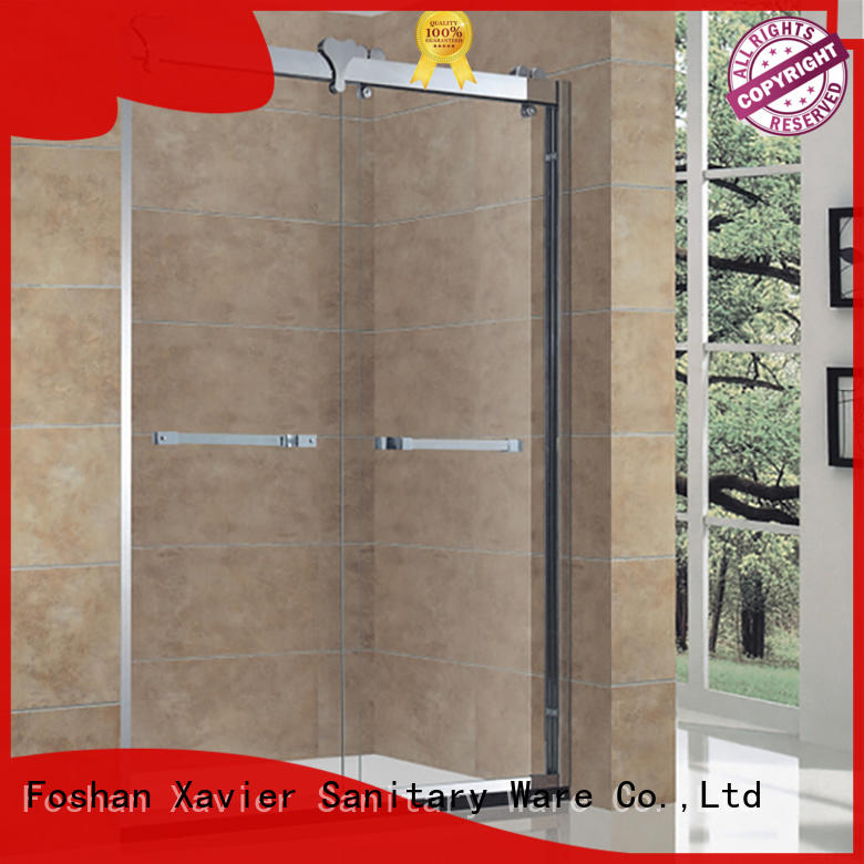 Xavier tempered bath screen directly price for home
