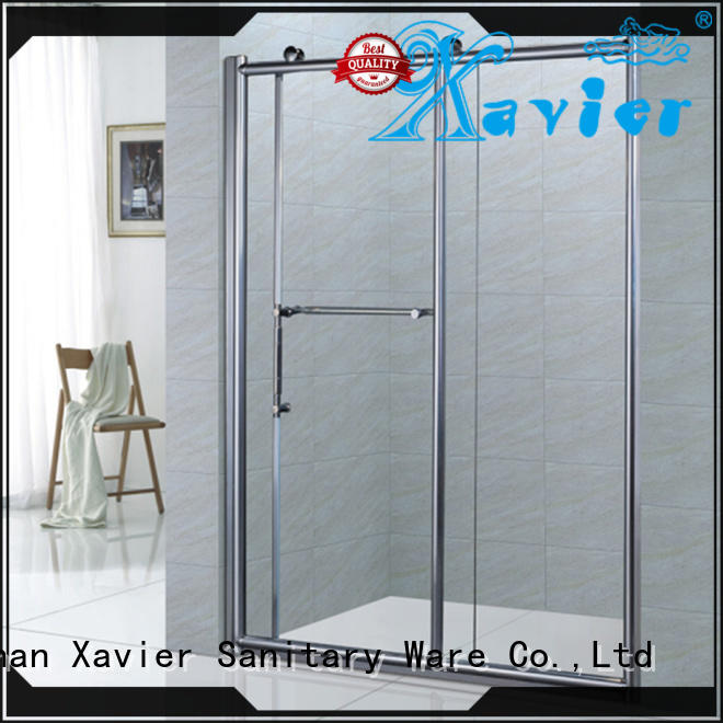 modern bathroom glass door roller promotion for hotel