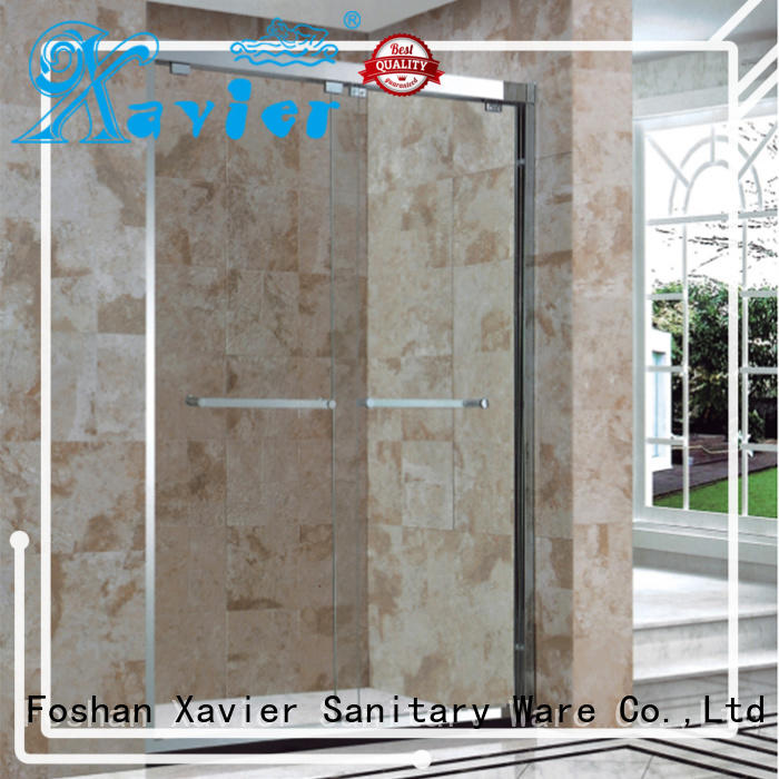 Xavier Brand shower corner shower doors 304 supplier