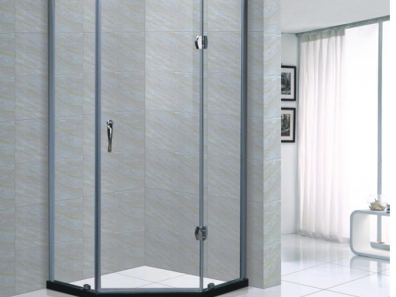 Xavier -High-quality Glass Shower Enclosures | Rectangle Frameless Hinge Shower-1