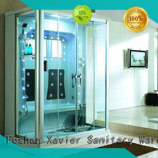 Xavier zyf1212tg steam room shower combo factory price for apartment