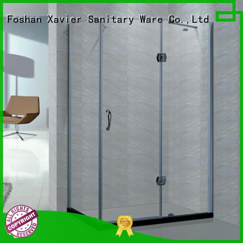 frameless shower glass shower units Xavier Brand