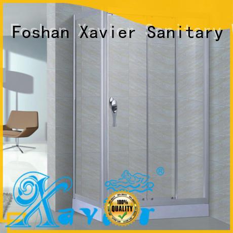 Wholesale quality corner shower unit glass Xavier Brand