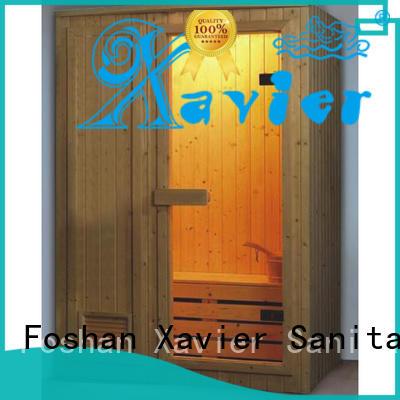 Xavier Brand steam room sauna custom steam and sauna