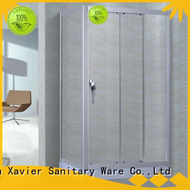 Xavier simple corner shower enclosures promotion for homestay
