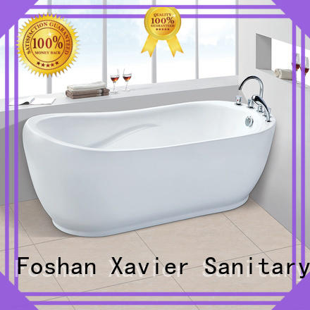 freestanding bathroom freestanding bathtub acrylic Xavier Brand