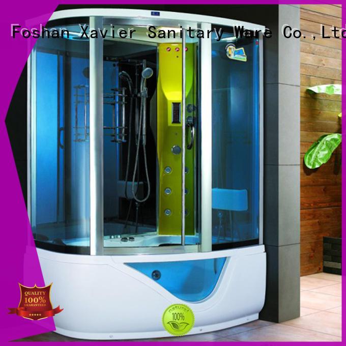 Xavier zf8010lr steam shower kit on sale for apartment