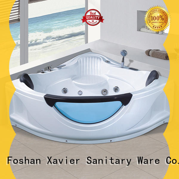 Xavier x2250 massage bathtub supplier for two people