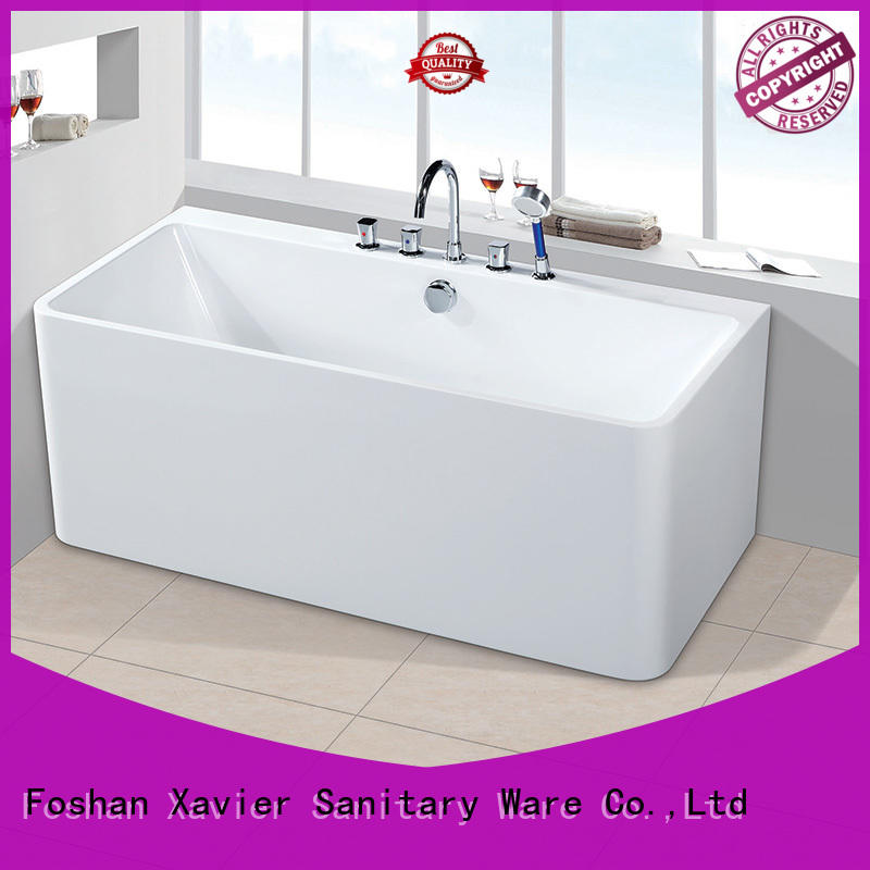 Xavier light free standing bathtub promotion for homestay