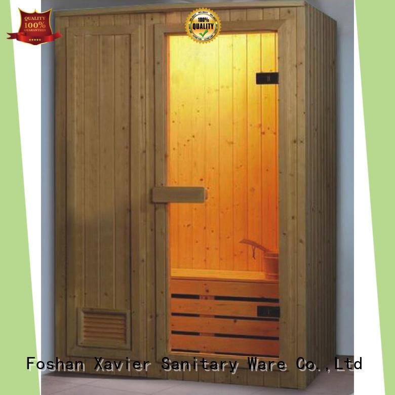 Xavier high quality infared sauna on sale for villa