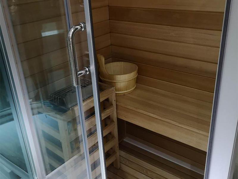 Xavier -Home Infrared Sauna Steam Room With Sauna House Gs1117-rl-1
