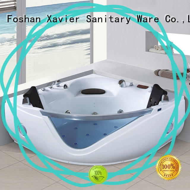 Xavier modren corner whirlpool tub directly price for villa