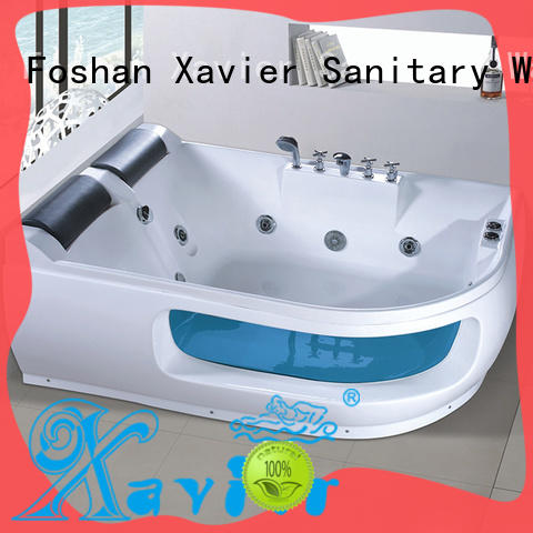 durable whirlpool tub with berth for two people