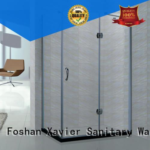 Xavier Brand glass shower corner shower unit sliding