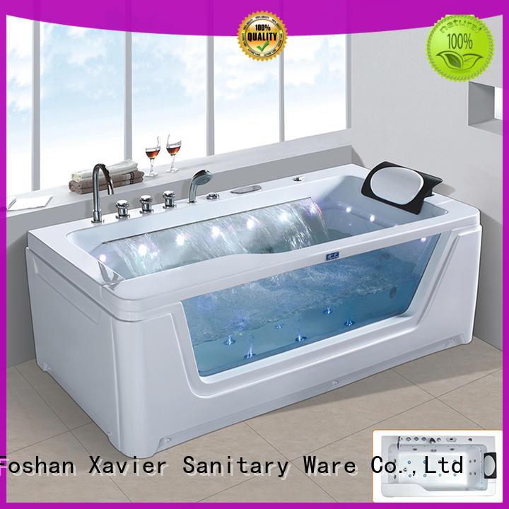 acrylic whirlpool tub bathtub whirlpool Xavier company